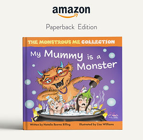 My mummy is a monster Hard back book lin