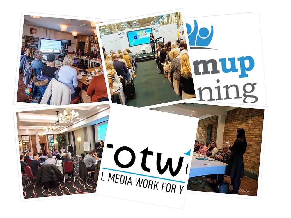 Social Media management training via Team Up Training