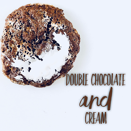 Double Chocolate and Cream Cookie