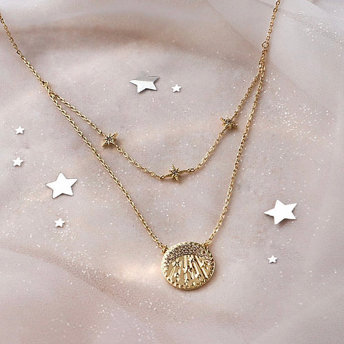 Wanderlust + Co  |  BE THE LIGHT GOLD NECKLACE
