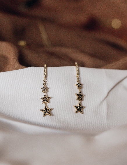 Love By The Moon  |  DANCING UNDER STARS EARRINGS