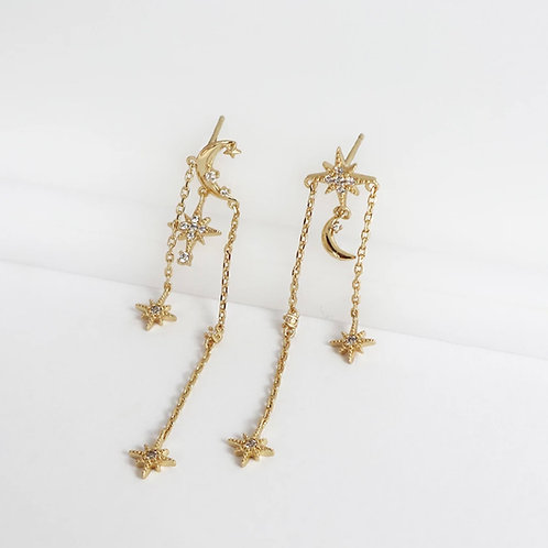 Wanderlust + Co  |  L'etoile GOLD EARRINGS