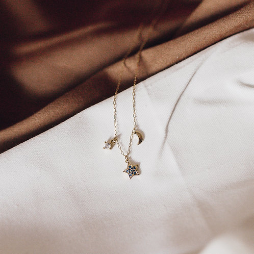 Love By The Moon  |  GOOD NIGHT NECKLACE