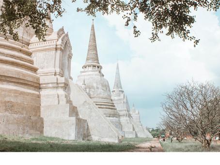大城府 • 穿越到泰國的王朝古城 ✦ 尋找樹中佛和泰版吳哥窟!