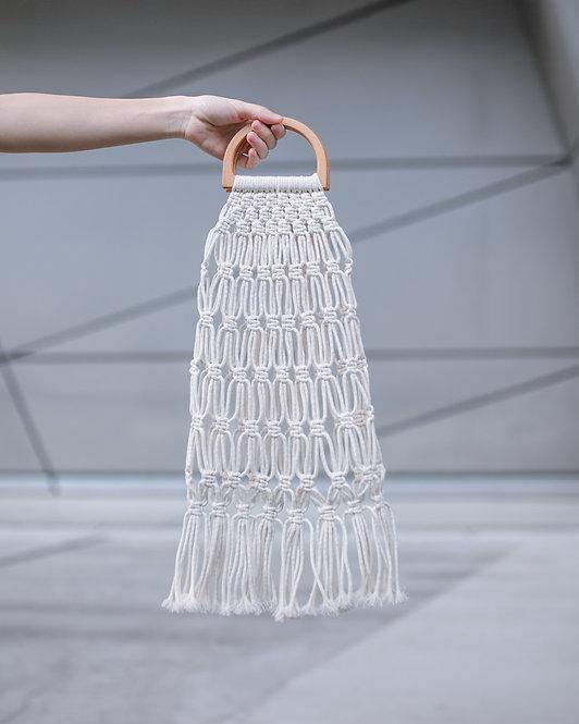 Sabo Skirt  |  MACRAME TASSEL BAG