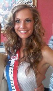Miss Nederland Desiree van den Berg