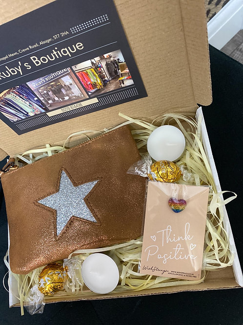 Star Purse 'Think Positive' Gift Box - Small