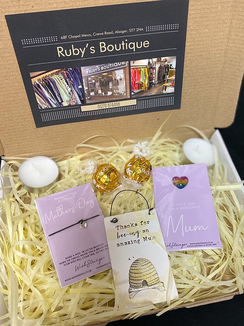 Bee Plaque Mum Gift Box - Small