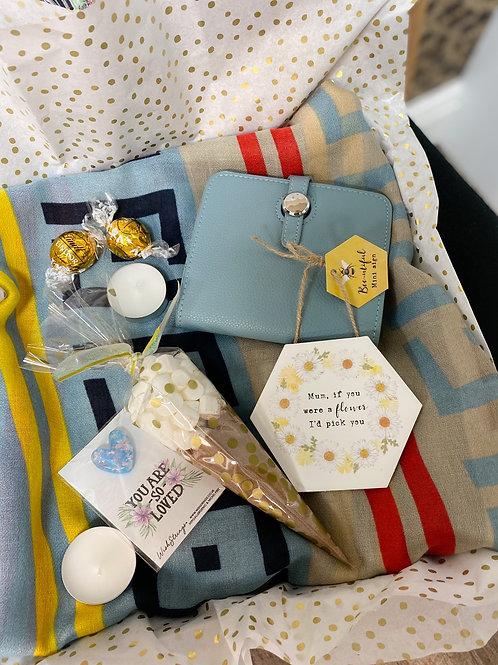Spring Scarf & Purse Mum Gift Box