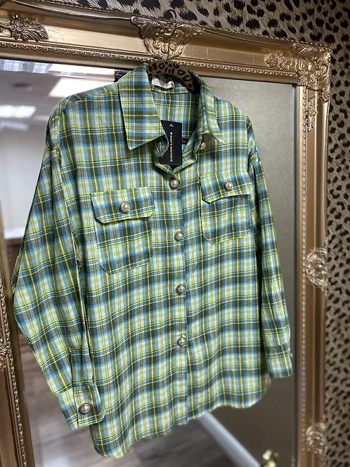 Pearl Button Check Shirt