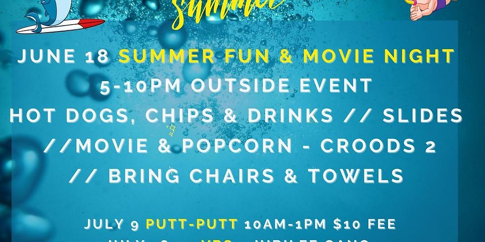 Summer Fun Bash Event