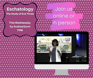 Copy of Eschatology The Study of End Tim