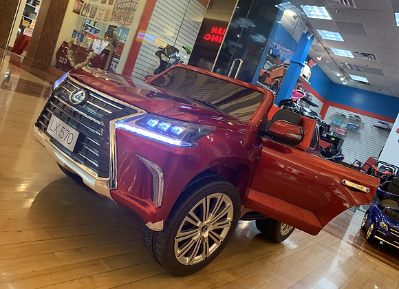 Toddler Motors Lexus LX570 with Touchscreen