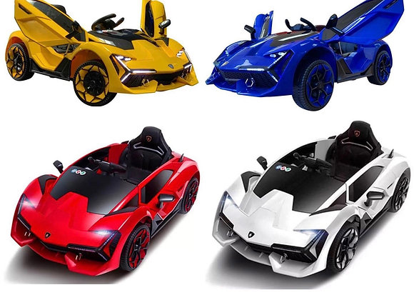 Toddler Motors Lambo Style