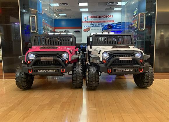 Toddler Motors 2020 Jeep Wrangler 12V