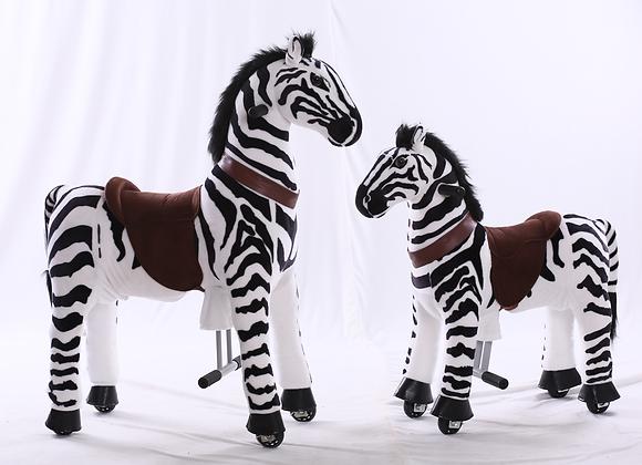 Ride On Animal - Zebra (medium)