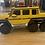 Thumbnail: Toddler Motors G wagon G63 6x6 (Yellow)
