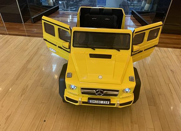 Toddler Motors G wagon G63 6x6 (Yellow)