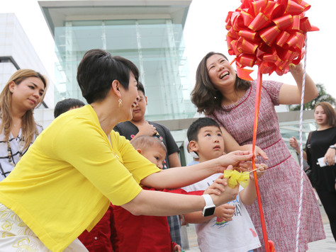 tHe Spring goes Gold with Sarawak Children's Cancer Society this Mid-Autumn Festival