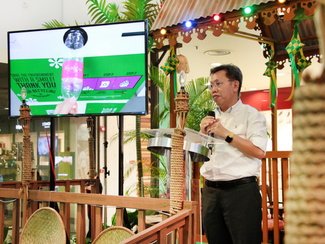 tHe Spring introduces the First Recycling Vending Machine in Kuching