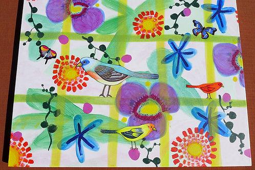 Birds: Garden Stroll Meditation