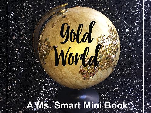 Gold World mini book