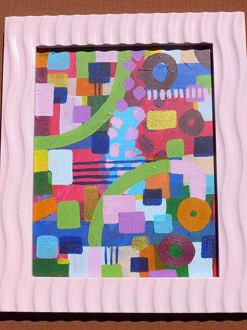 Light Pink framed art
