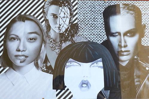 Four women + Two men + An art being