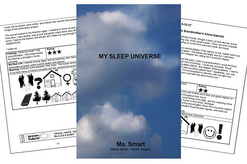 My Sleep Universe (Dream book)
