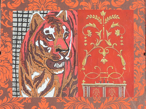 Collage: Tiger Autumnette