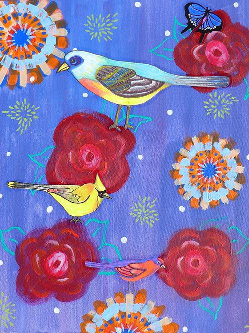 Birds: Lush Summer