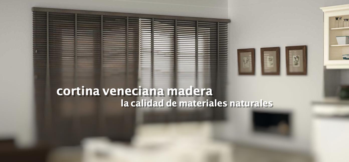 cortinas sant cugat veneciana madera