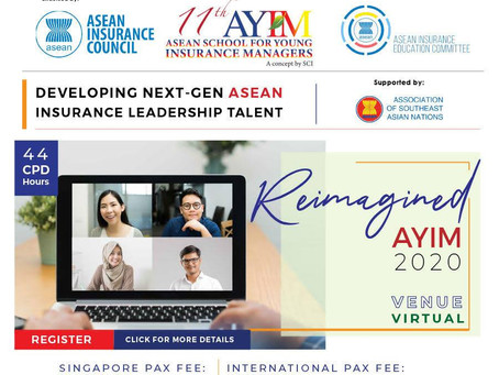 Training for young ASEAN insurance managers starts Sept. 28