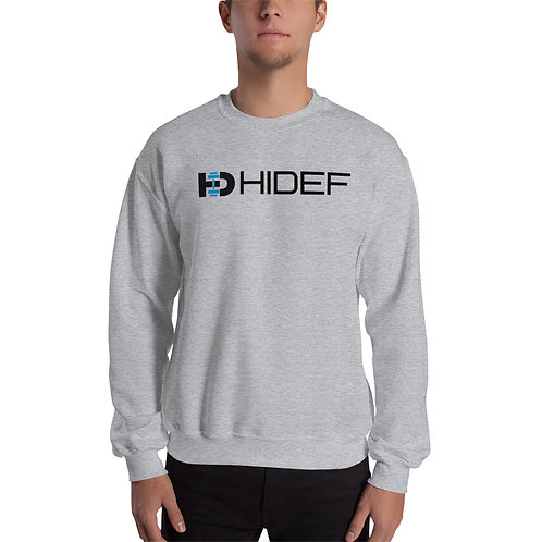 HIDEF Crew Unisex Sweatshirt