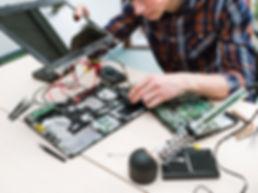 コンピュータの修理
