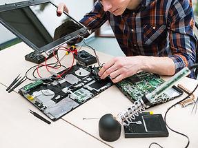 Een computer repareren