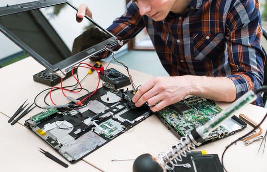 Fixing a Laptop