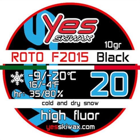 Roto F2015 20 Black