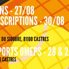 Inscriptions saison 21-22