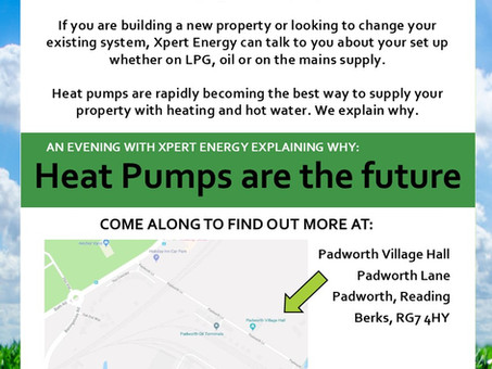An Xpert talk about heat pumps...