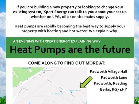 An Xpert talk about heat pumps...