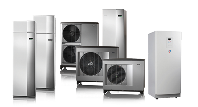 Air, Ground and Water Source Heat Pumps