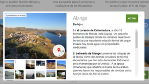 Alange compite por ser la capital del turismo rural en 2018