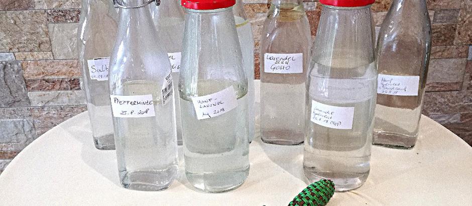 Workshop Destillieren und Besuch bei Sensoleo