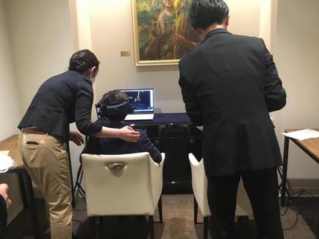 弘法寺(港区三田)にて仁和寺VRの体験サポート担当しました