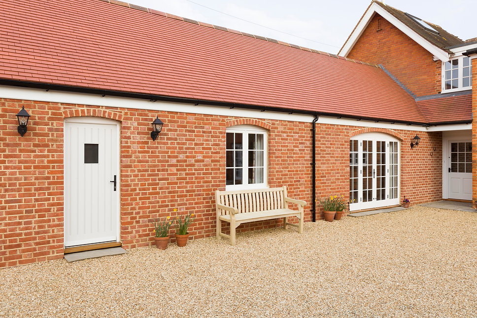Home extension or addition, UK barn conv
