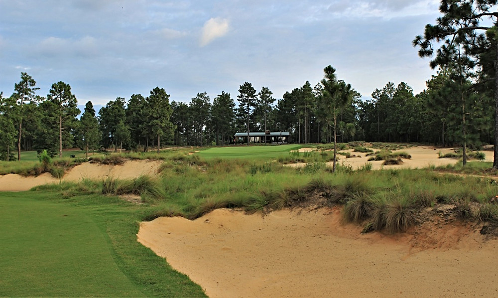 Dormie Club pinehurst west end NC coore crenshaw design golf course