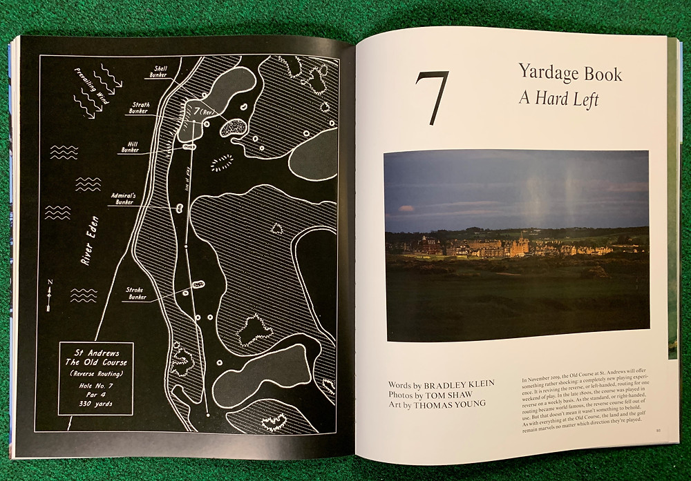 Ballpark Blueprints, St Andrews, The Golfer's Journal,  Royal and ancient, home of golf, golf course architecture, thomas young