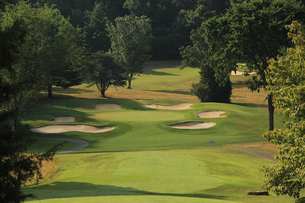 Graysburg Hills, Golf Course, Rees Jones, Chuckey, Tennessee, East Tennessee Golf, Tri-Cities, TN, Appalachian Highlands, public golf, 27 holes, par 3, bunkers, signature hole