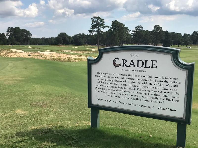 the cradle pinehurst resort short par 3 course gil hanse golf
